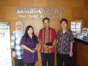 Kunjungan STMIK MDP Palembang