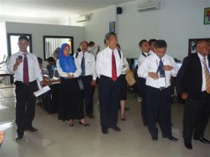Kunjungan Kementerian Pariwisata dan Ekonomi Kreatif